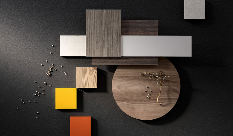 New colours and finishes – Santalucia Mobili