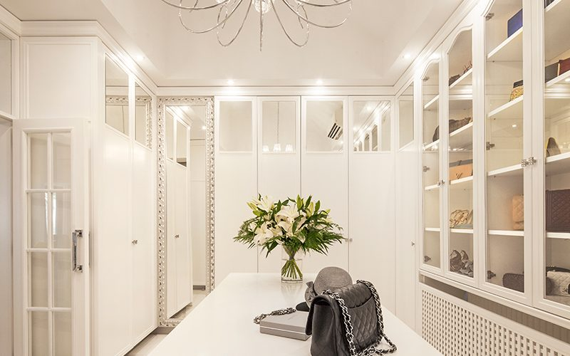 Walking Closet & Bedroom, Private Residence