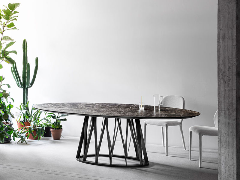 Acco dining table - La Qualite